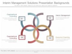 Interim Management Solutions Presentation Backgrounds