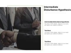Intermediate Disturbance Hypothesis Ppt PowerPoint Presentation Layouts Brochure Cpb Pdf