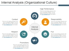 Internal Analysis Organizational Culture Ppt PowerPoint Presentation Icon Graphics