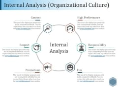 Internal Analysis Organizational Culture Ppt PowerPoint Presentation Infographic Template Guidelines
