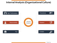 Internal Analysis Organizational Culture Ppt PowerPoint Presentation Summary Graphic Images