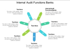 Internal Audit Functions Banks Ppt PowerPoint Presentation Professional Gallery Cpb Pdf