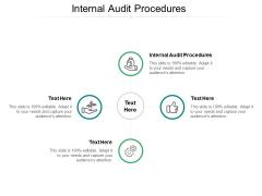 Internal Audit Procedures Ppt PowerPoint Presentation Summary Themes Cpb