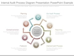 Internal Audit Process Diagram Presentation Powerpoint Example