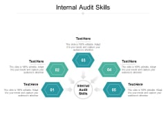 Internal Audit Skills Ppt PowerPoint Presentation File Deck Cpb