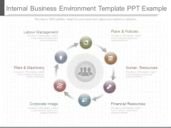 Internal Business Environment Template Ppt Example