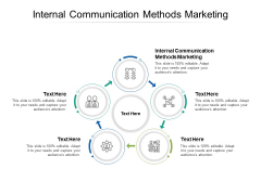 Internal Communication Methods Marketing Ppt PowerPoint Presentation Infographic Template Shapes Cpb