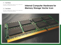 Internal Computer Hardware For Memory Storage Vector Icon Ppt PowerPoint Presentation File Gridlines PDF