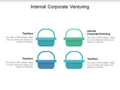 Internal Corporate Venturing Ppt PowerPoint Presentation Styles Summary Cpb