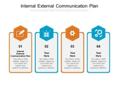 Internal External Communication Plan Ppt PowerPoint Presentation Styles Samples Cpb