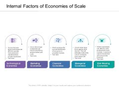 Internal Factors Of Economies Of Scale Ppt PowerPoint Presentation Gallery Outline PDF