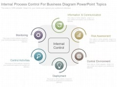 Internal Process Control For Business Diagram Powerpoint Topics