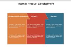 Internal Product Development Ppt PowerPoint Presentation Slides Sample Cpb