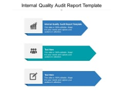 Internal Quality Audit Report Template Ppt PowerPoint Presentation Infographics Background Designs Cpb