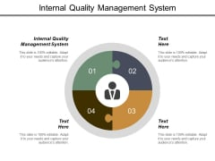 Internal Quality Management System Ppt PowerPoint Presentation Pictures Example