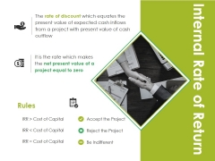 Internal Rate Of Return Template 1 Ppt PowerPoint Presentation Styles File Formats