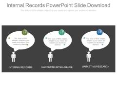 Internal Records Powerpoint Slide Download