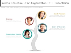Internal Structure Of An Organization Ppt Presentation