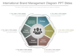 International Brand Management Diagram Ppt Slides