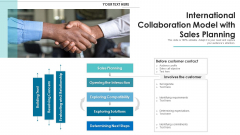 International Collaboration Model With Sales Planning Guidelines PDF