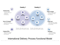 International Delivery Process Functional Model Ppt PowerPoint Presentation Pictures Format PDF