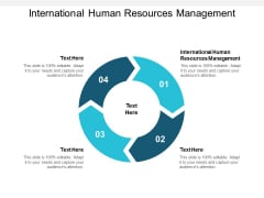 International Human Resources Management Ppt PowerPoint Presentation Ideas Slide Portrait Cpb