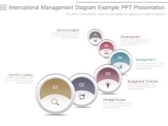 International Management Diagram Example Ppt Presentation
