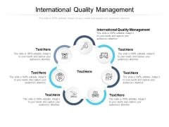 International Quality Management Ppt PowerPoint Presentation Ideas Images Cpb