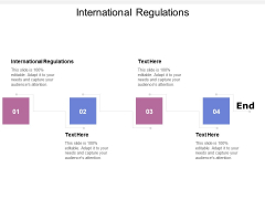 International Regulations Ppt PowerPoint Presentation Slides Examples Cpb