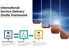 International Service Delivery Onsite Framework Ppt PowerPoint Presentation Portfolio Design Templates PDF
