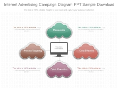 Internet Advertising Campaign Diagram Ppt Sample Download