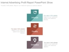 Internet Advertising Profit Report Powerpoint Show