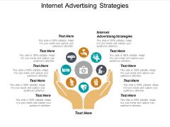Internet Advertising Strategies Ppt PowerPoint Presentation Infographics Graphics Design Cpb