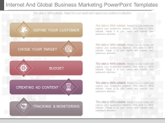 Internet And Global Business Marketing Powerpoint Templates