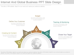 Internet And Global Business Ppt Slide Design