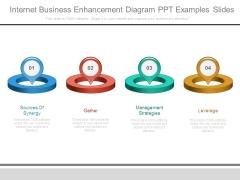 Internet Business Enhancement Diagram Ppt Examples Slides