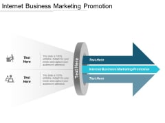 Internet Business Marketing Promotion Ppt PowerPoint Presentation Gallery Deck Cpb