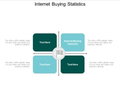 Internet Buying Statistics Ppt PowerPoint Presentation Show Format Cpb
