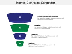 Internet Commerce Corporation Ppt PowerPoint Presentation Show Graphic Tips Cpb