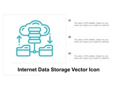Internet Data Storage Vector Icon Ppt Powerpoint Presentation Outline Backgrounds