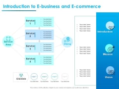 Internet Economy Introduction To E Business And E Commerce Ppt Professional Example PDF