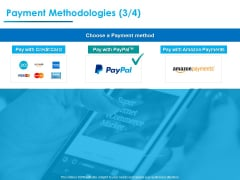 Internet Economy Payment Methodologies Payment Ppt Icon PDF
