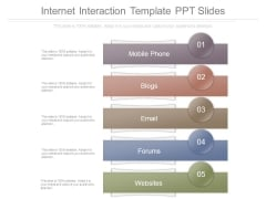 Internet Interaction Template Ppt Slides