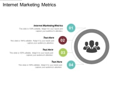 Internet Marketing Metrics Ppt PowerPoint Presentation Portfolio Example Topics Cpb