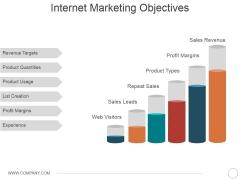 Internet Marketing Objectives Ppt PowerPoint Presentation Portfolio Summary