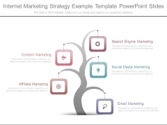 Internet Marketing Strategy Example Template Powerpoint Slides
