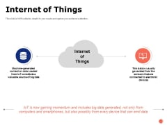 Internet Of Things Ppt PowerPoint Presentation Infographics Graphics Pictures