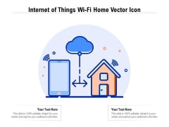 Internet Of Things Wifi Home Vector Icon Ppt Slides Example File PDF