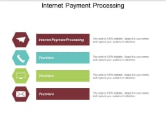 Internet Payment Processing Ppt PowerPoint Presentation Professional Shapes Cpb