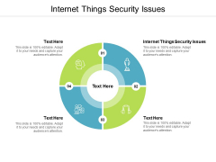 Internet Things Security Issues Ppt PowerPoint Presentation Professional Design Inspiration Cpb
